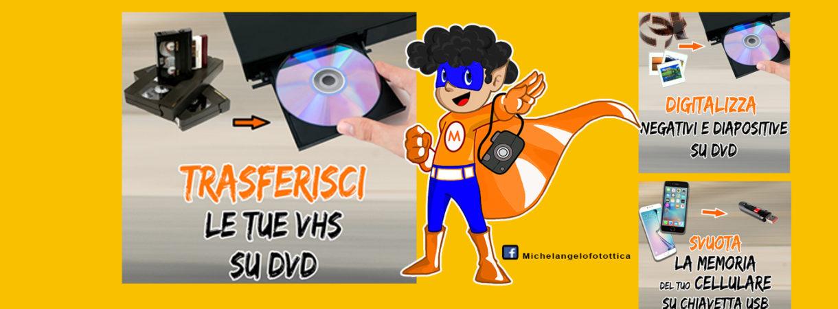 riversamenti vhs a DVD