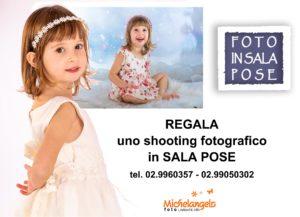 cartolina foto in studio Michelangelo