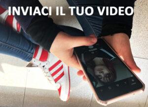 """immagine esemplificativa per """"INVIACI IL TUO VIDEO"""""""